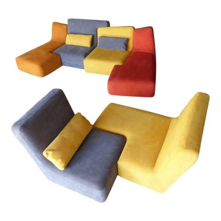 "The ""Confluences"" Sofa Set Designed by Philippe Nigro for Lignet Roset C. 2009 For Sale"