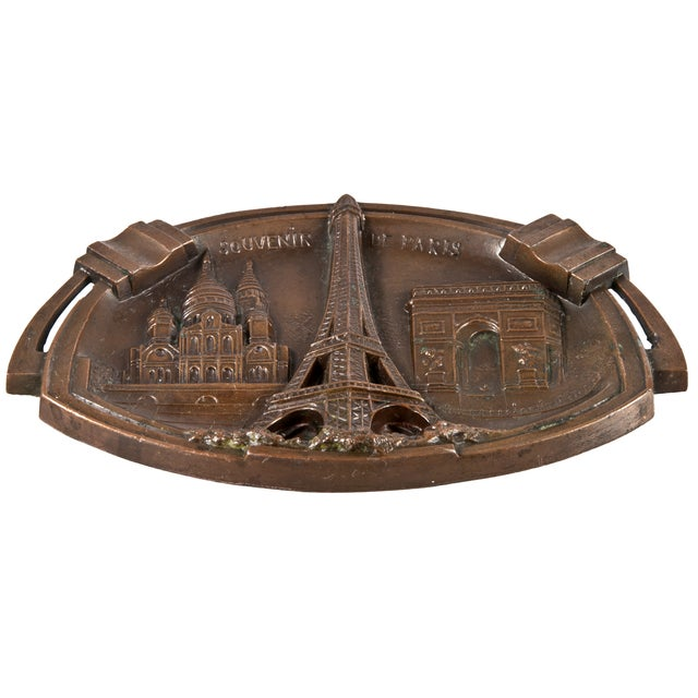 Vintage Paris Souvenir Ashtray - Image 2 of 4