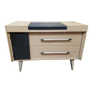 Mid Century Modern Lime Oak Chest of Drawers by Harris Lebus c.1950s