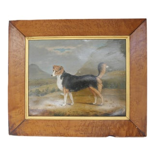 Early 20th Century Portrait of Dog Painting