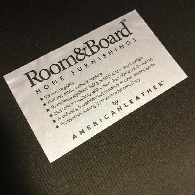 Room & Board Suede Studio Sofa - Image 9 of 9