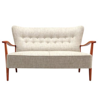 1940s Vintage Dux Danish Modern Sofa For Sale