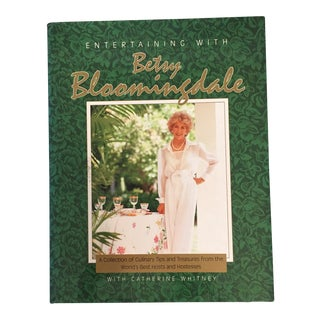 "Signed ""Entertaining With Betsy Bloomingdale"" Book For Sale"