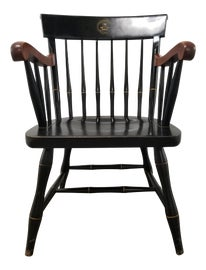 Image of Black Windsor Chairs