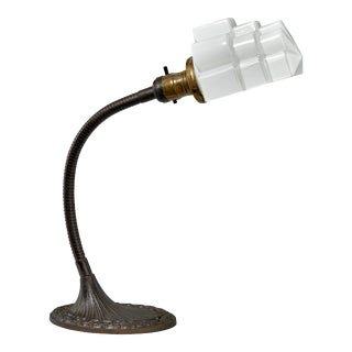 Art Deco Task Desk Lamp by Greist Lamps of Connecticut For Sale