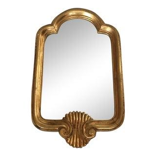 Petite Vintage Mid Century Italian Gilt Mirror