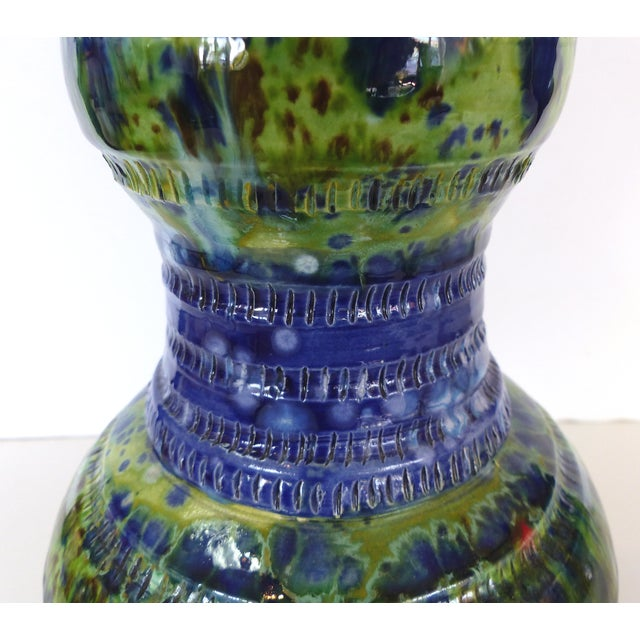 Glazed Ceramic Vase by Gary Fonseca For Sale - Image 4 of 10