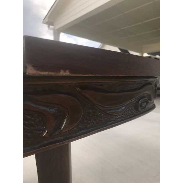 Pulaski Furniture Oceanic Table, Attributed to Witco For Sale - Image 12 of 13