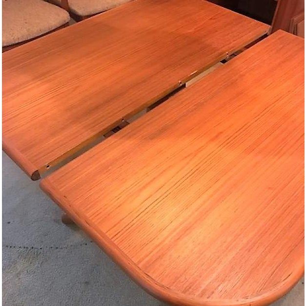 Expandable Mid-Century Danish Teak Dining Table by Niels O. Moller for Gudme Mobelfabrik For Sale - Image 6 of 11