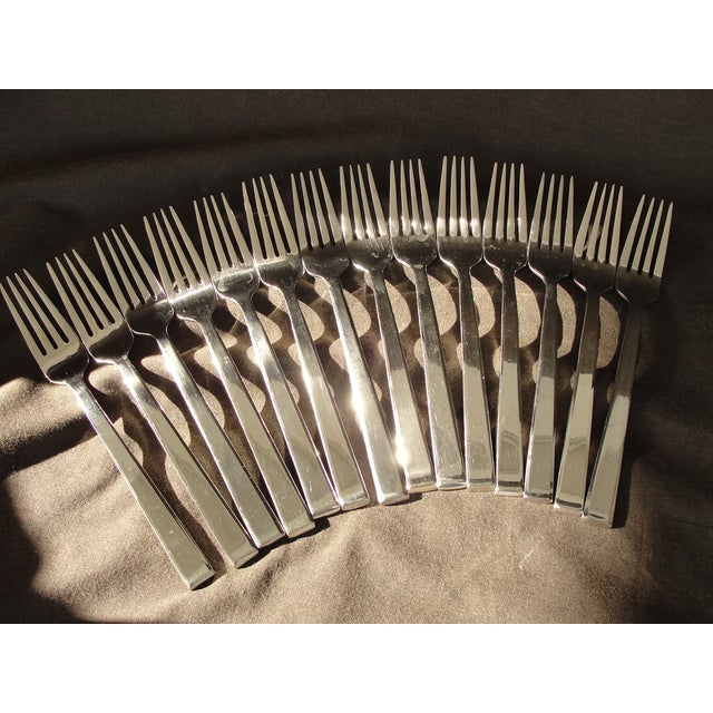 Danish Modern Dansk Meridian Stainless Flatware - 57 Pieces For Sale - Image 3 of 9
