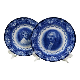 Antique Royal Doulton Historical Plates - Set of 2 For Sale
