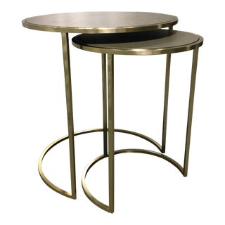 "Universal Furniture ""Bennett"" Bunching Tables - Set of 2 For Sale"
