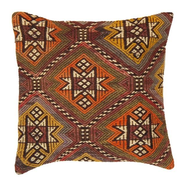 Pasargad Decorative Vintage Kilim Pillow - Image 1 of 2