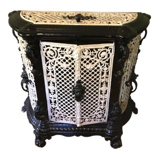 French Antique Rod Iron Heater