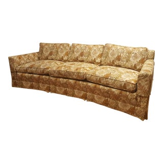 1970s Vintage Henredon Floral Couch For Sale