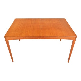 H.w. Klein Teak + Rosewood Dining Table For Sale