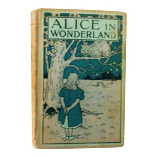 1900s Antique Alice's Adventures in Wonderland Book For Sale