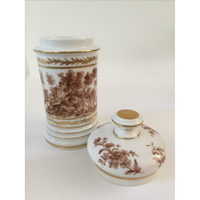 Antique Porcelain Apothecary Jar - Image 6 of 7