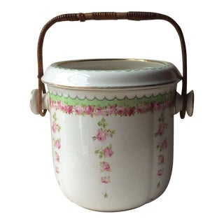 Antique Royal Doulton English Victorian Ice Bucket Wine Cooler For Sale