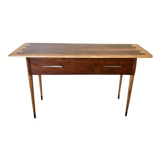Mid Century Modern Lane Acclaim Dovetail Console Table For Sale