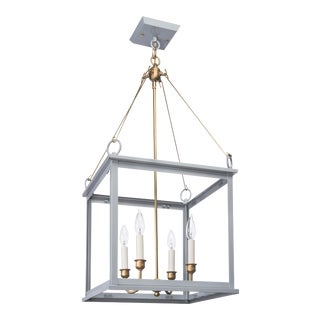 Midtown Collection Hanging Light, Grey For Sale