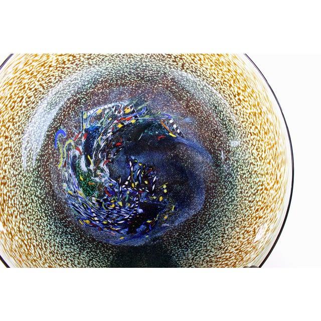 Bertil Vallien Kosta Boda Meteor Bowl For Sale - Image 7 of 7