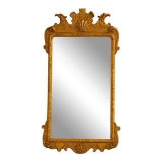 Friedman Brothers Colonial Williamsburg Collection Gold Mirror For Sale