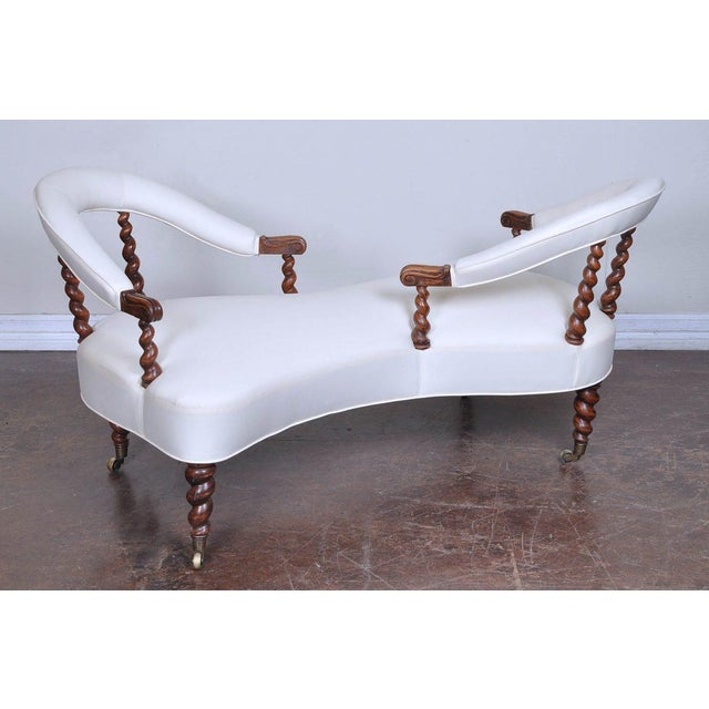 """Tête-à-Tête translates from French to """"head to head"""". A Tête-à-Tête piece of furniture is an S-shaped sofa on which two..."""