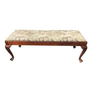 Century Upholstered Bench