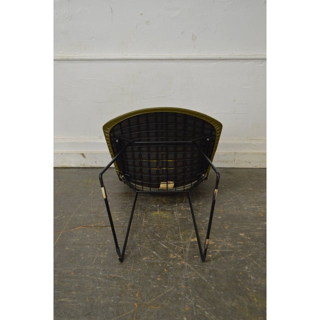 Green Bertoia for Knoll Mid Century Wire Side Dining Chairs - Set of 12 For Sale - Image 8 of 10