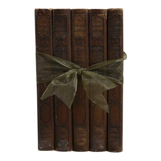Vintage Book Gift Set: Pocket-Sized Poetry - Set of 5 For Sale