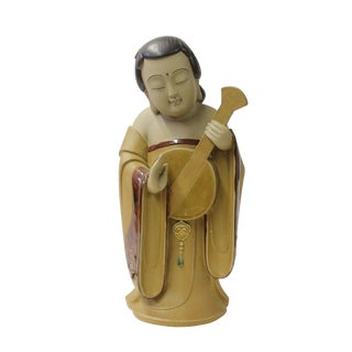 Chinese Oriental Ceramic Tong Style Lady Figure