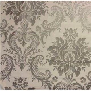Castleton Damask CL Fawn Drapery Upholstery Fabric - 1 Yard For Sale