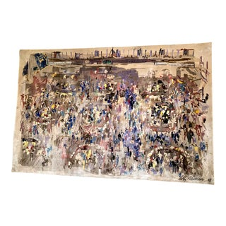 Leroy Neiman Tapestry, Signed and Numbered For Sale