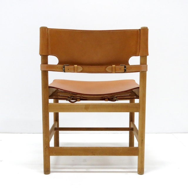 """1960s Vintage Børge Mogensen """"Hunting"""" Chairs- Set of 6 For Sale In Los Angeles - Image 6 of 11"""