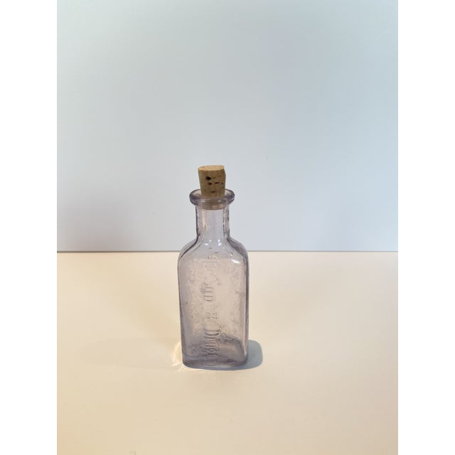 Vintage Glass Apothecary Bottles - Set of 7 For Sale - Image 4 of 11