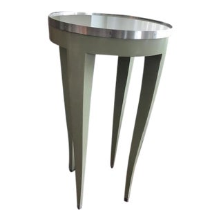Donghia Green Side Table For Sale