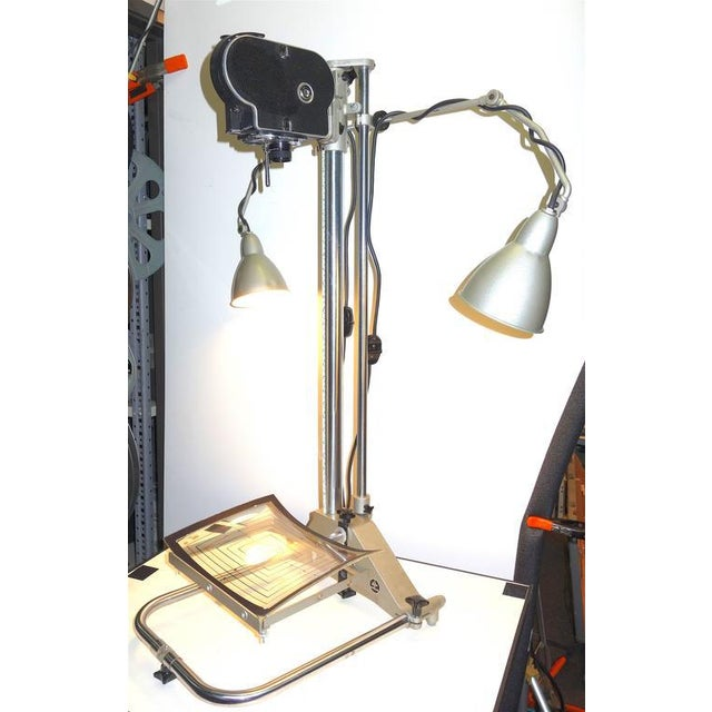 Industrial Rare Mid-Century Motion Picture Graphic/Animation Stand. Display As Sculpture For Sale - Image 3 of 10