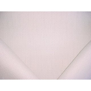 Ralph Lauren Seagrass Weave Cream Heavy Linen Upholstery Fabric - 4 Yards For Sale