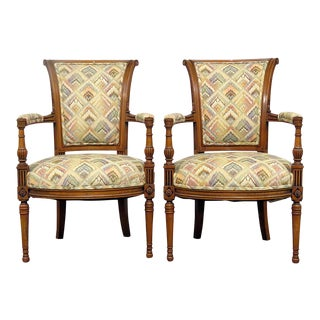Regency Style Fauteuils - a Pair For Sale