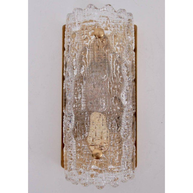 Set of Eight Wall Lamps by Carl Fagerlund for Orrefors and Lyfa For Sale - Image 6 of 6