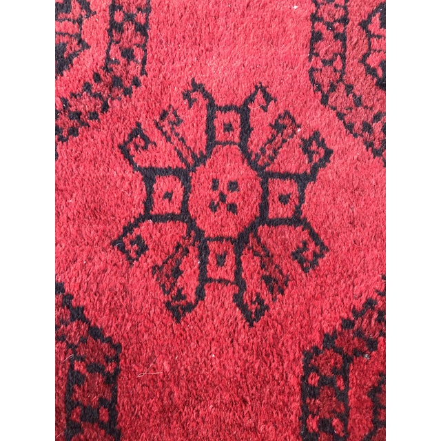 Vintage Hand-Knotted Wool Rug- 6′7″ × 10′7″ For Sale - Image 12 of 13