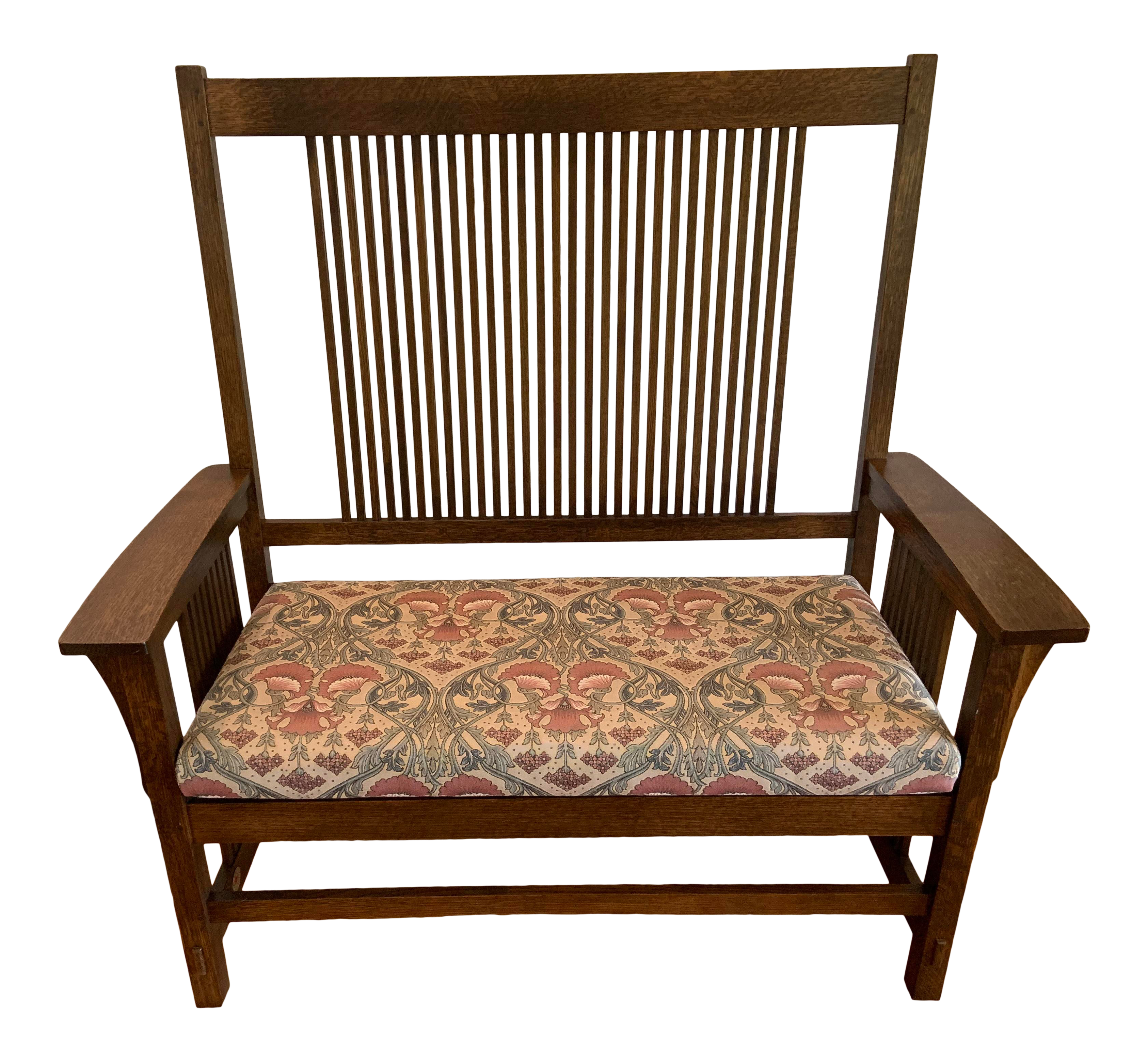Stickley Mission Oak Arts And Crafts Settee Bench