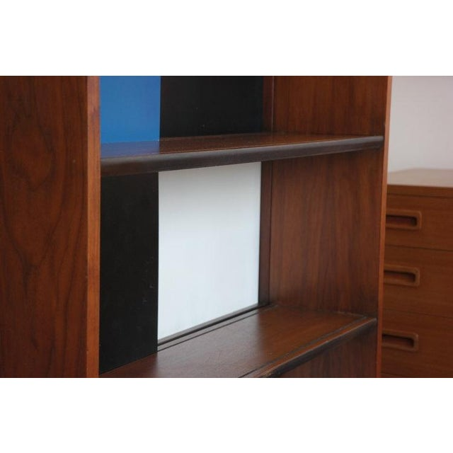 Evans Clark Color Block Bookcase For Sale In Los Angeles - Image 6 of 7