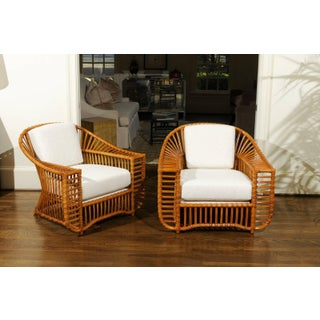 Unique Restored Pair of Tiara Lounge or Club Chairs by Henry Olko, Circa 1979 Preview