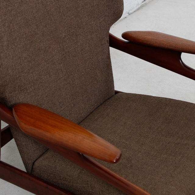 Finn Juhl Reclining Wingback Chair For Sale - Image 7 of 10