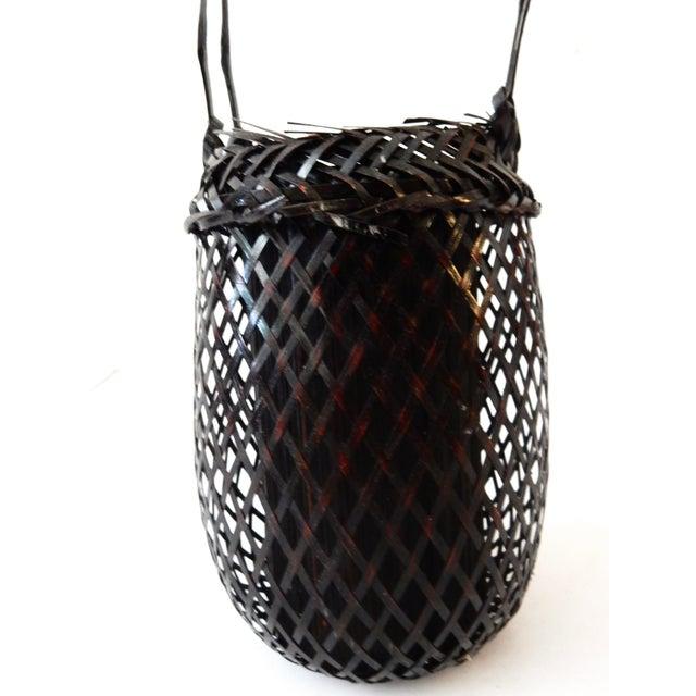Woven Japanese Ikebana Basket - Image 3 of 6