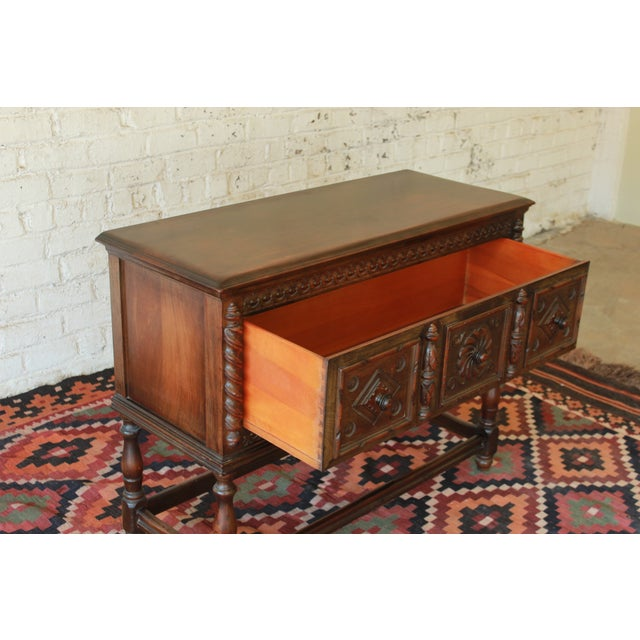 Limbert Furniture Co. Elizabethan-Style Sideboard - Image 7 of 9