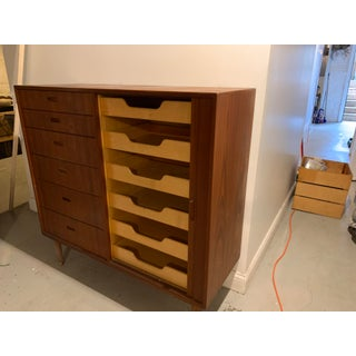 Mid-Century Modern Teak Gentleman's Chest by Falster Mobelfabrik Preview