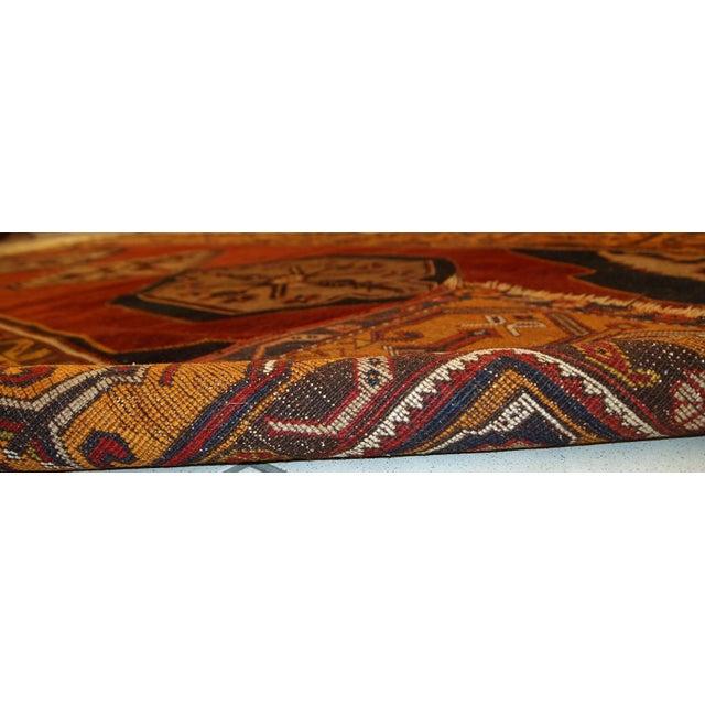 Antique Turkish Anatolian Rug - 4′1″ × 9′1″ - Image 7 of 10